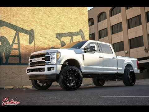 F250 2017 Ford on 24x14 built for the West Texas OIL FIELDS! Everyday field truck.
