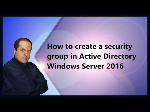 how-to-create-a-security-group-in-active-directory-windows-server-2016