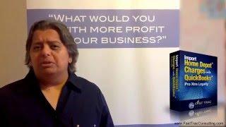 Import Home Depot into QuickBooks Pro Xtra Intro