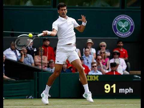 Novak Djokovic seals spot in second round of Wimbledon after Martin Klizan quits on his stool