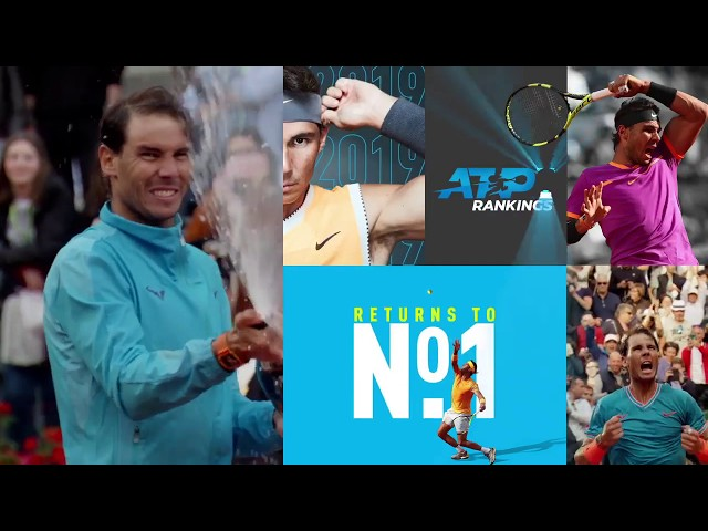 Rafael Nadal Returns To No. 1