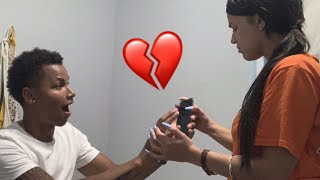 MY EX WANTS ME BACK PRANK ON GIRLFRIEND **GET'S CRAZY**