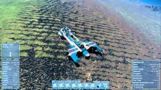 Landing the default Blue large ship (OBSOLETE)