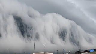 Разлом Сан Андреас Момент с цунами