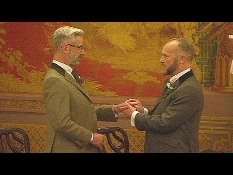 First same-sex weddings take place in England and Wales