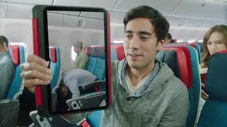 Zach King ارشادات السلامة على الخطوط الجوية التركية مع