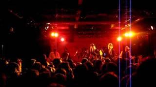 Friska Viljor - We Are Happy Now (La La La) live Feierwerk Hansa39 München Munich 16.11.2009