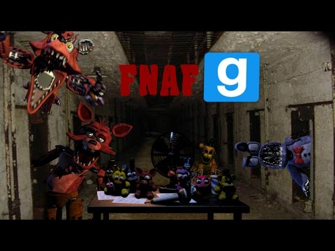FIVE NIGHTS AT FREDDY'S!!!         : gmod fun :