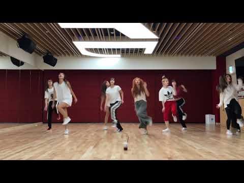 [mirrored & 50% Slowed] TWICE - DANCE THE NIGHT AWAY Dance Video