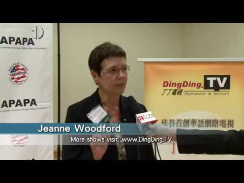 APAPA-11th Annual Voters Education & Candidates Forum-Jeanne Woodford