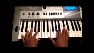 How to play Intentional by Travis Greene on piano