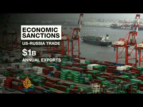 Potential impact of Western sanctions on Russia
