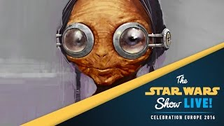 Star Wars: The Force Awakens Creature Design Panel | Star Wars Celebration Europe 2016