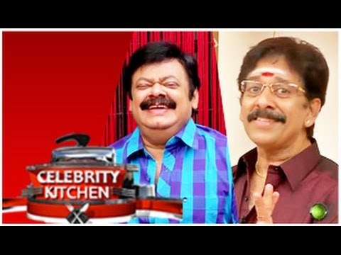 Mohan Vaidhya & Madhan Babu In Celebrity Kitchen (11/01/2015)