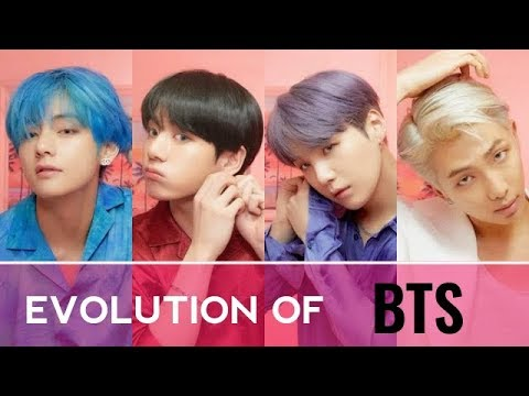 THE EVOLUTION OF BTS ( 2013 - 2019 )