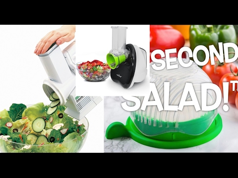 Best 3 Kitchenaids,Kitchen Appliances - Salad Shooter, Salad Maker, Salad Chopper - Saladmaster.