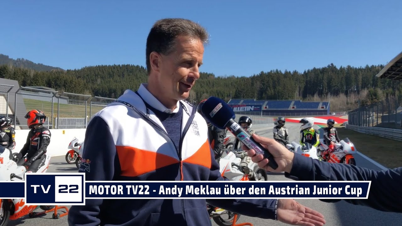 MOTOR TV22: Motorrad Legende und Riding Coach Andy Meklau über den Austrian Junior Cup