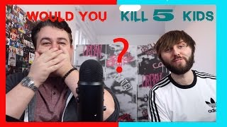Would You Rather W/ James Buckley