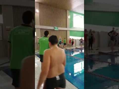 1 место по плаванию.🏊