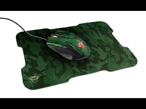 Мышь Trust GXT 781 Rixa Camo Mouse & Pad USB Camouflage (TR23611)