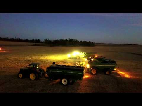 2017 Ford County Feedlot Wheat Harvest- Danielski Farms