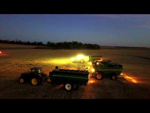 2017 Ford County Feedlot Wheat Harvest- Danielski Farms