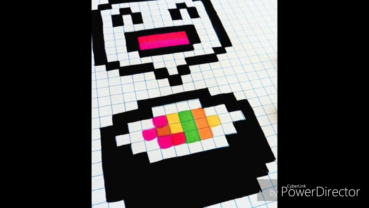 Pixel Art Sushis Kawaii Troisième Vidéo Youtube