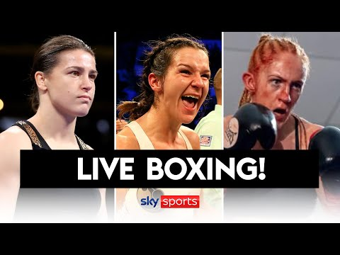 LIVE BOXING! Katie Taylor, Terri Harper & Rachel Ball compete in world title fights