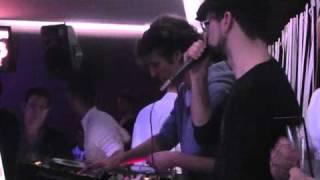 Pasch b2b D_Licious feat. MC Tresh @ ParkClub (Vizela, PT)  26.3.2011
