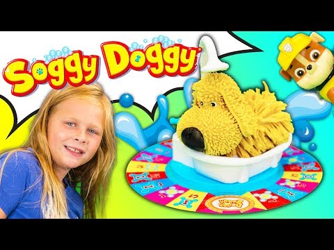 SOGGY DOGGY Game Assistant Plays PJ Masks vs Paw Patrol In Fun New Game