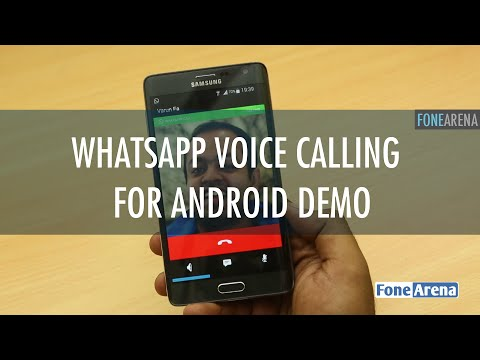Whatsapp Voice Calling Feature Demo - For Android.