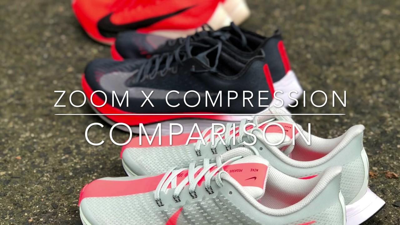 0dd18cacf0648 Nike Pegasus 35 Turbo  Nike Vaporfly Elite  Nike Vaporfly 4% Compression  Comparison Video