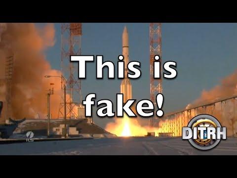Real rockets vs fake rockets hiding the flat earth thumbnail