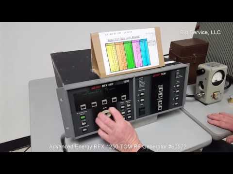 Advanced Energy RFX-1250/TCM RF Generator #60572
