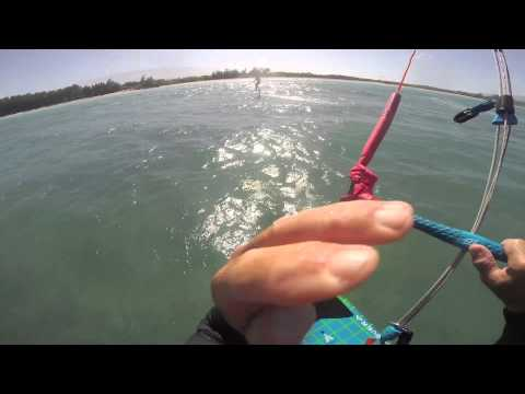 Foiling Tutorial of Lightwind Winter foiling in Maui Dec 28th and 29th
