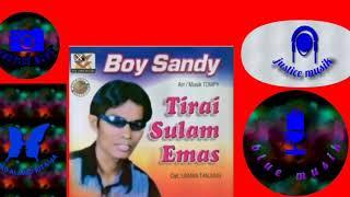 Lagu boy sandy tirai sulam emas