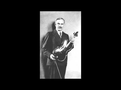 Lionel Tertis plays his transcription of Delius' 2nd Violin Sonata