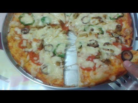 صورة  طريقة عمل البيتزا طريقة عمل البيتزا من عجينة البيتزا باسهل طريقة خطوة بخطوة طريقة عمل البيتزا من يوتيوب