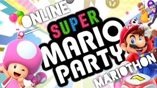 Super Mario Party Online Mariothon - Let's Get Some Golds!