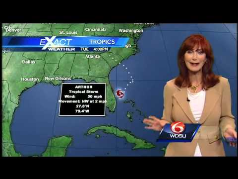 Tropical Storm Arthur strengthens off Florida