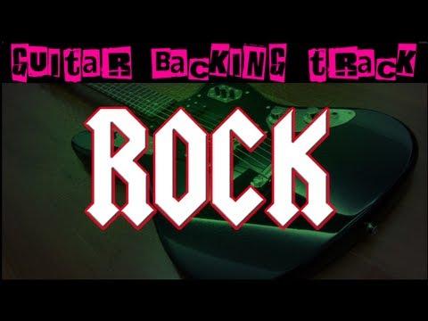 Power Rock Guitar Backing Track Am  105 bpm  MegaBackingTracks