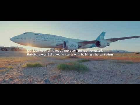 At GE Aviation, we see a more sustainable future of flight