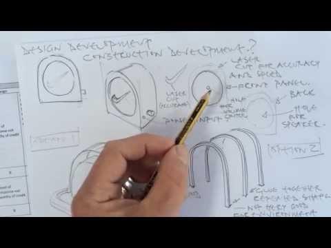 GCSE coursework 6 - design development
