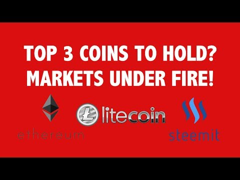 Top 3 Coins To Hold? Markets Under Fire!