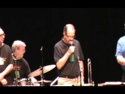 BILL ALLRED CLASSIC JAZZ BAND IN ADLER THEATRE AT 41ST BIX JAZZ FESTIVAL 8/3/12