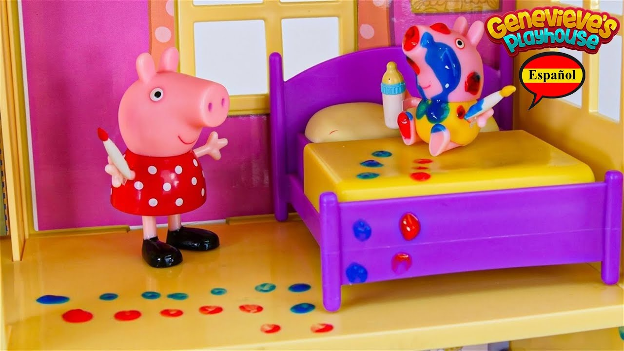 Download Video de Aprendizaje de Juguetes para Niños - ♥Peppa Pig♥ Babysitting Baby Alexander!