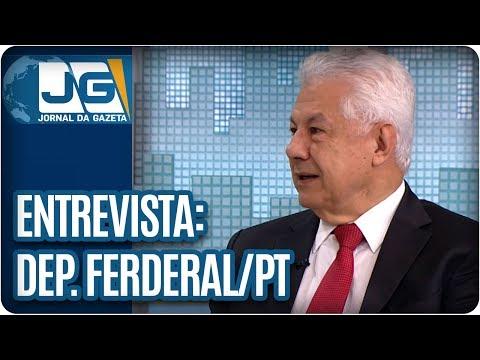 Rodolpho Gamberini entrevista Arlindo Chinaglia, dep. federal do PT/SP