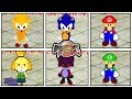 Dragon Ball FighterZ PC: NEW Mario, Sonic, & Animal Crossing Lobby Avatar Characters Mod Gameplay