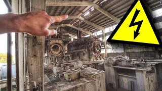 LEBENSGEFAHR im verlassenen Zementwerk!