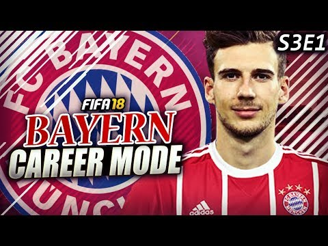 NEW SEASON!!! GORETZKA TO JOIN BAYERN FOR $80 MILLION?! - FIFA 18 Bayern Career Mode S3E1